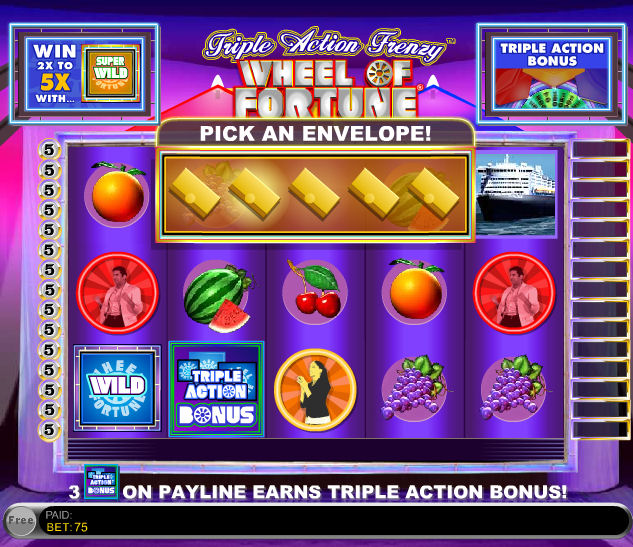 slots of fortune free
